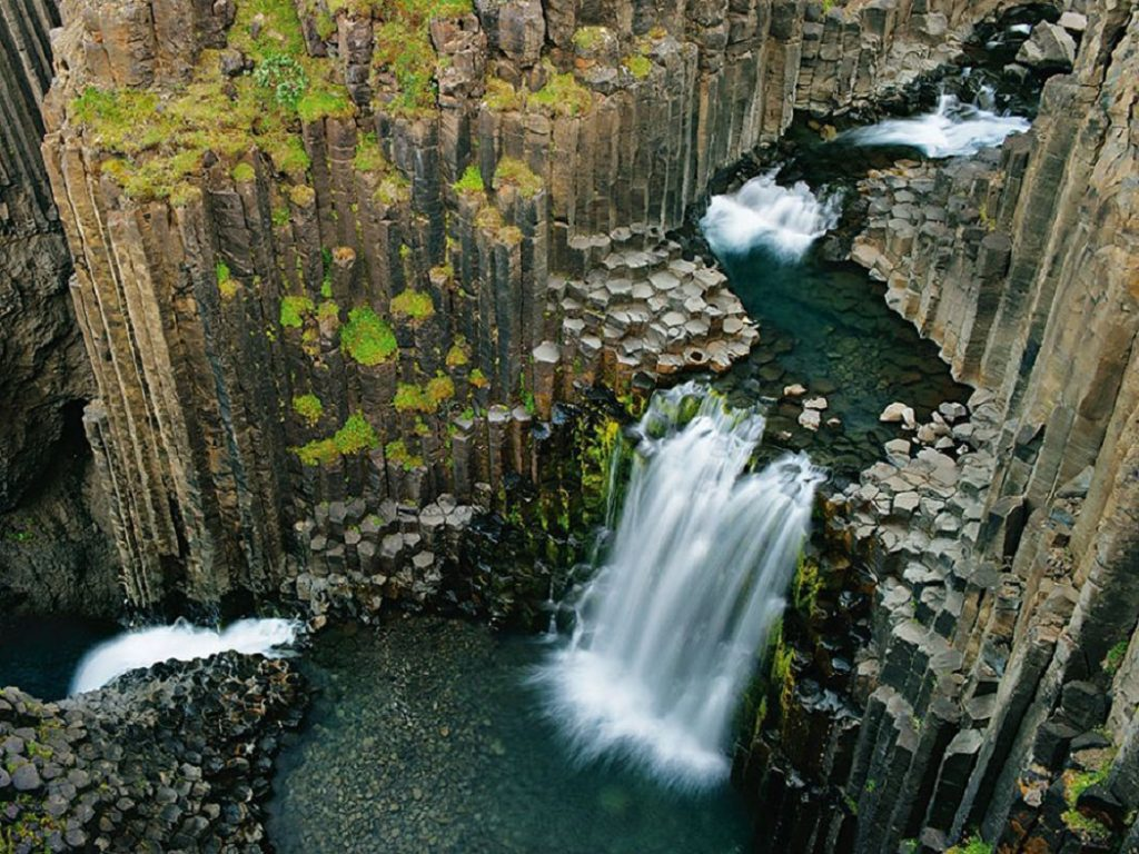 Cascade Svartifoss Islande