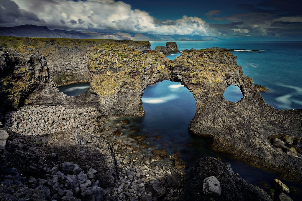 Arnarstapi en Islande