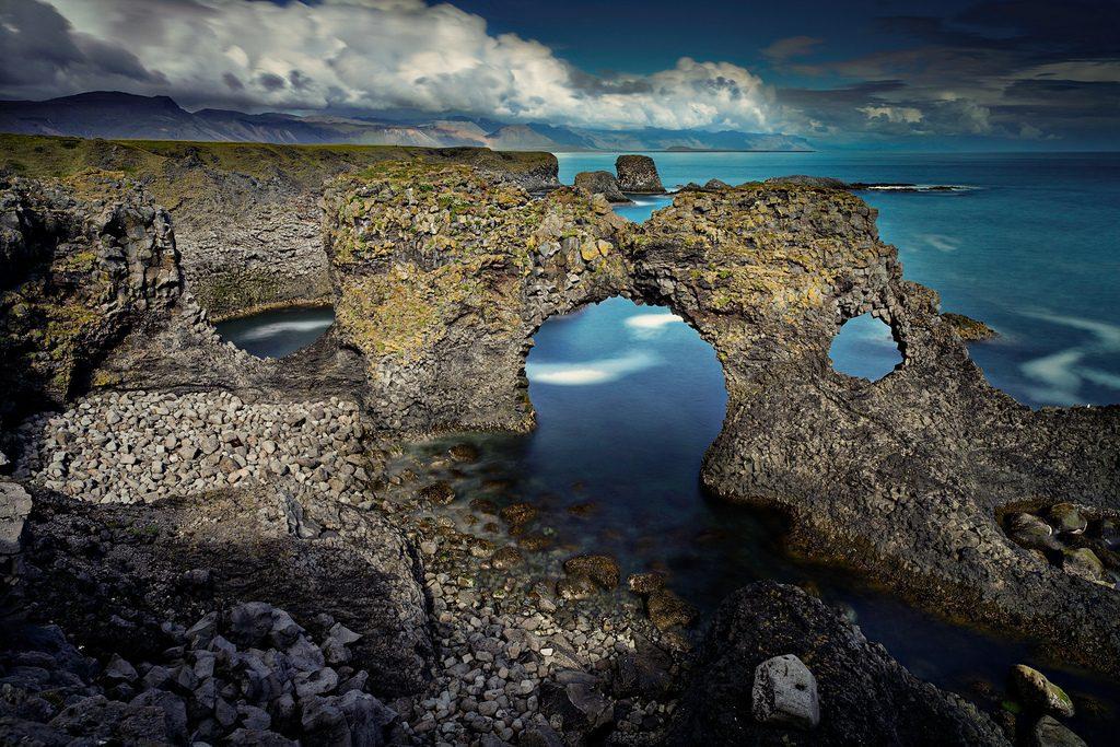 Arnarstapi en Islande