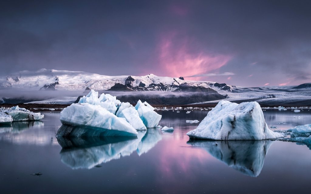 Jokulsarlon Islande