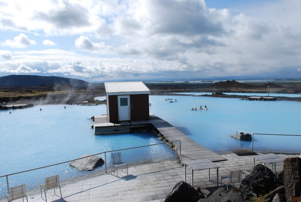 Myvatn sources d'eaux chaudes Islande