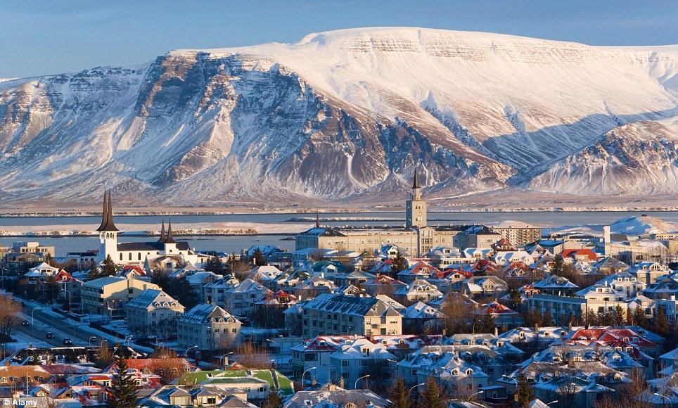 Reykjavik capitale de l'Islande