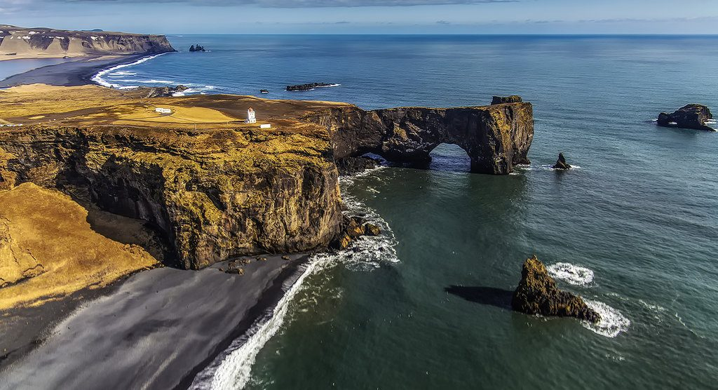 dyrholaey en Islande