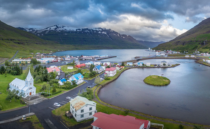 seydisfjordur fjord de l'est de l'islande