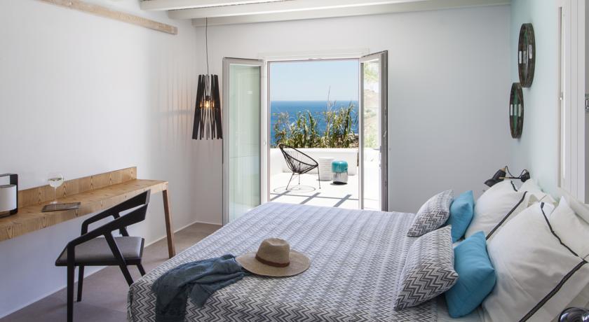Chambre avec vue mer de l'Hôtel Lyo
