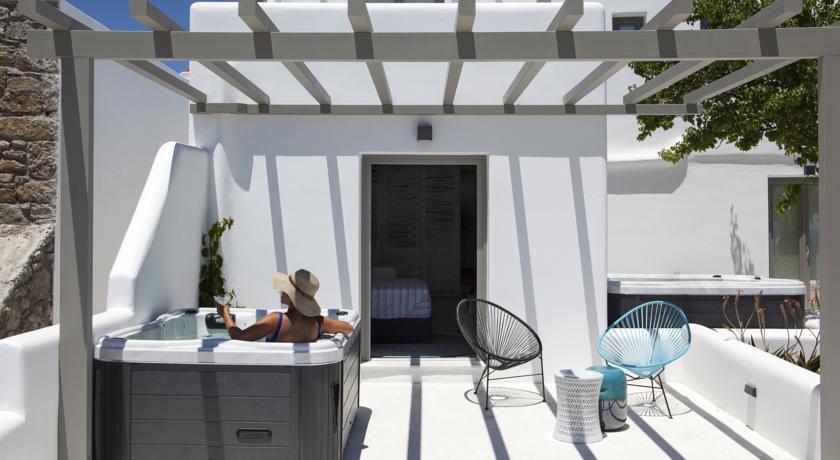 Chambre avec Jacuzzi - Boutique Hôtel Lyo à Mykonos