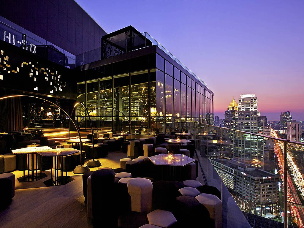 Bar Rooftop de l'hotel So Sofitel Bangkok