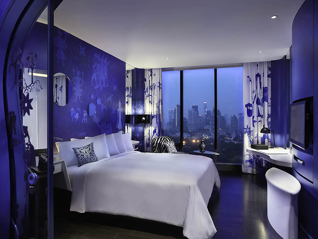Chambre sur le thème de l'Eau à l'Hotel So Sofitel Bangkok