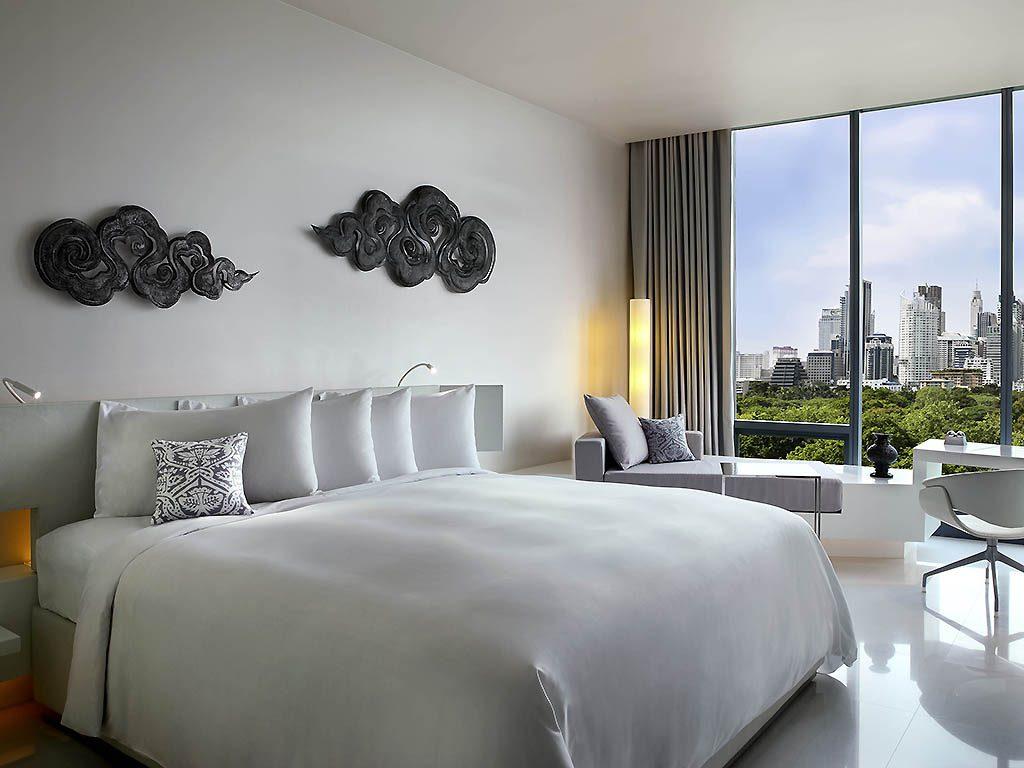 Chambre de l'hotel So Sofitel Bangkok