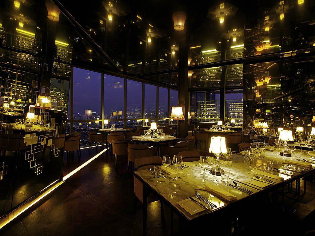 Restaurant a l'hotel So Sofitel Bangkok