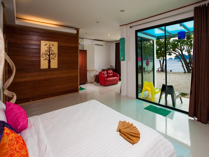 Chambre de l'hotel Paradise Resort sur Koh Phi Phi