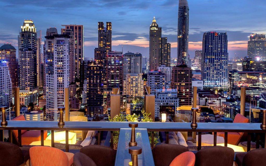 Rooftops Bars - Char de l'hôtel Indigo