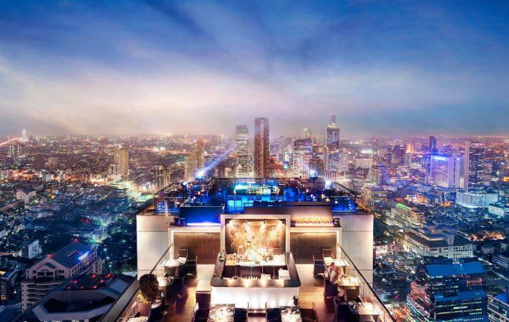 Rooftop Bangkok: Top 10 des bars les plus incroyables