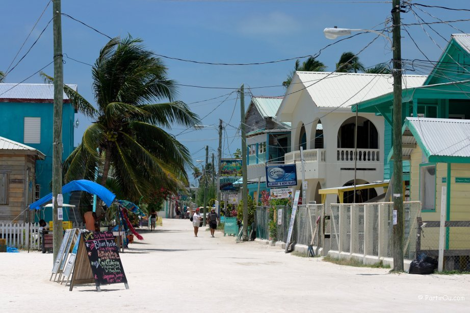 Voyage de noces au Belize
