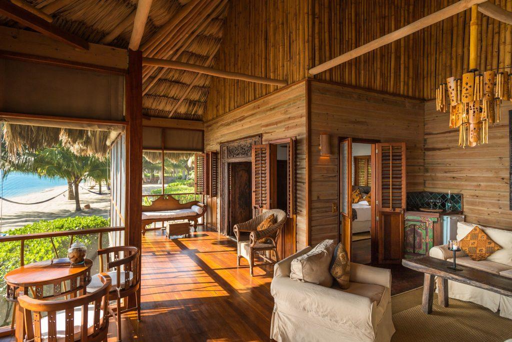 Villa hotel Turtle Inn Belize