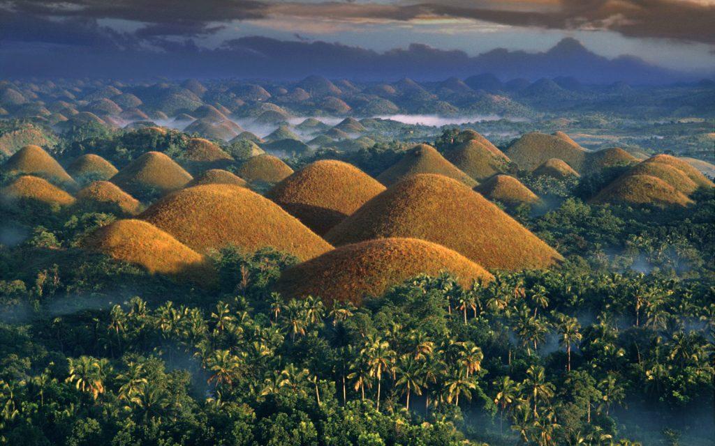 Voyage de Noces aux Philippines - Chocolates Hills Bohol