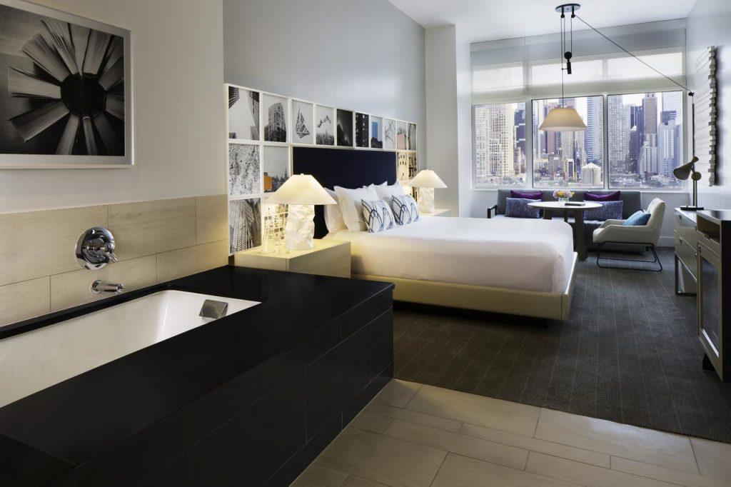 Hôtel à New York : Chambre avec vue au Ink 48 Hotel