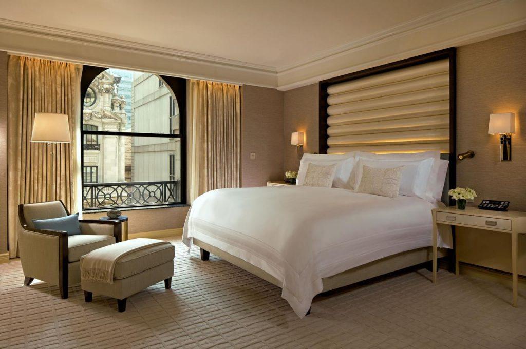 Hôtels à New York - Chambre de l'hôtel Peninsula