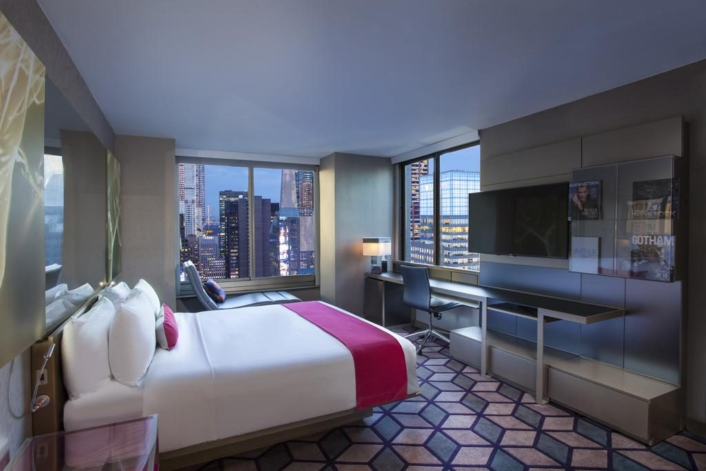 Hôtels à New York - Chambre du W Hotel