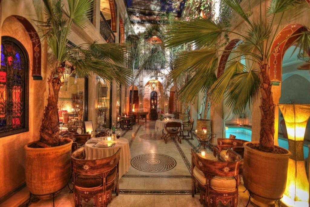 Riads à Marrakech - Riad Dar Anika Restaurant