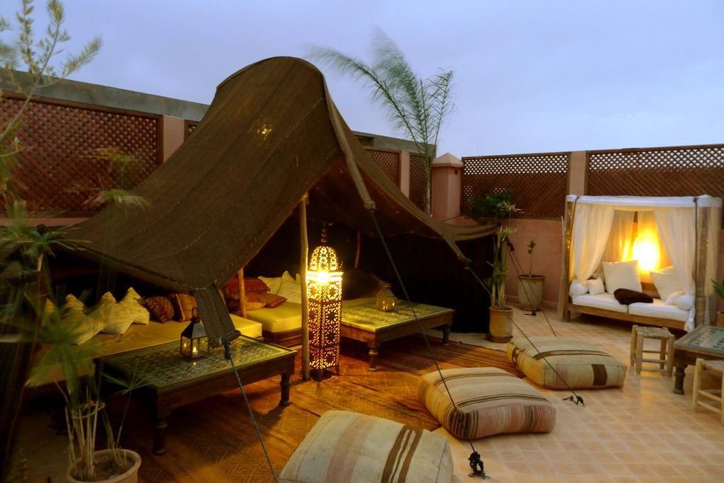 Riads à Marrakech - Riad Palacio de las Especias Terrasse
