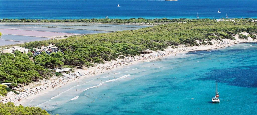 Plage des Salines Ibiza