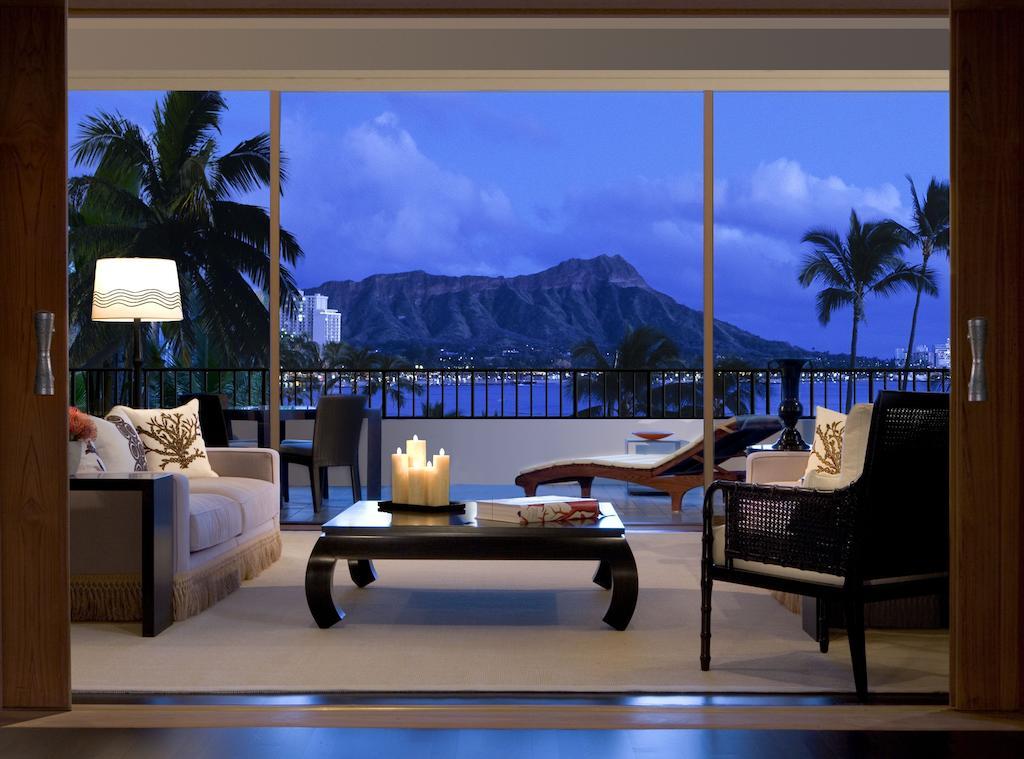 Les 5 plus beaux hôtels d'Oahu à Hawaii - Hôtel Halekulani - Terrasse