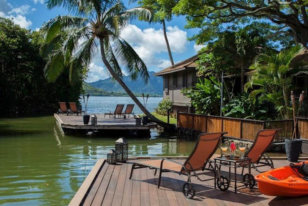 les 5 plus beaux hôtels d'Oahu à Hawaii - Hôtel Paradise Bay Resort - Terrasse hotel