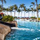Les 5 plus beaux hôtels d'Oahu à Hawaii - Hôtel Sheraton Waikiki - Piscine Toboggan