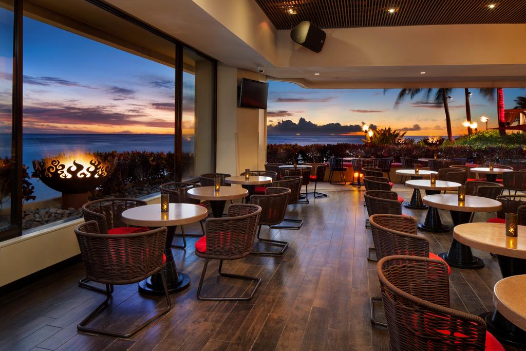 Les 5 plus beaux hôtels d'Oahu à Hawaii - Hôtel Sheraton Waikiki - Restaurant
