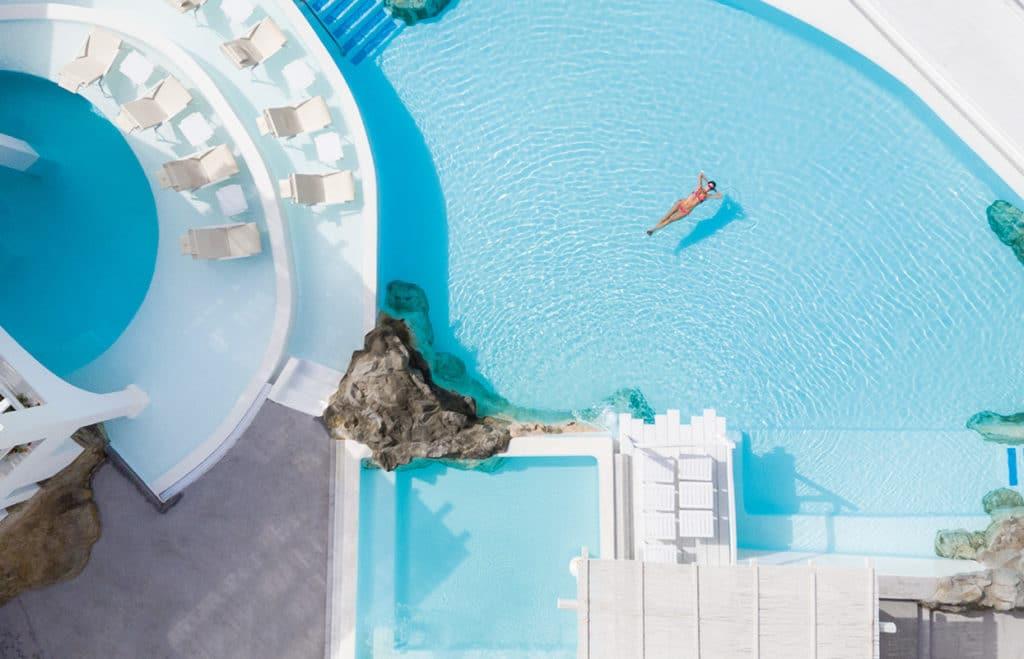 Hôtels et Piscines en Grèce