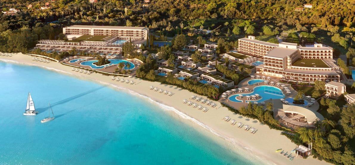les 10 plus beaux hôtels de Grèce - Hôtel Dassia Ikos Corfou