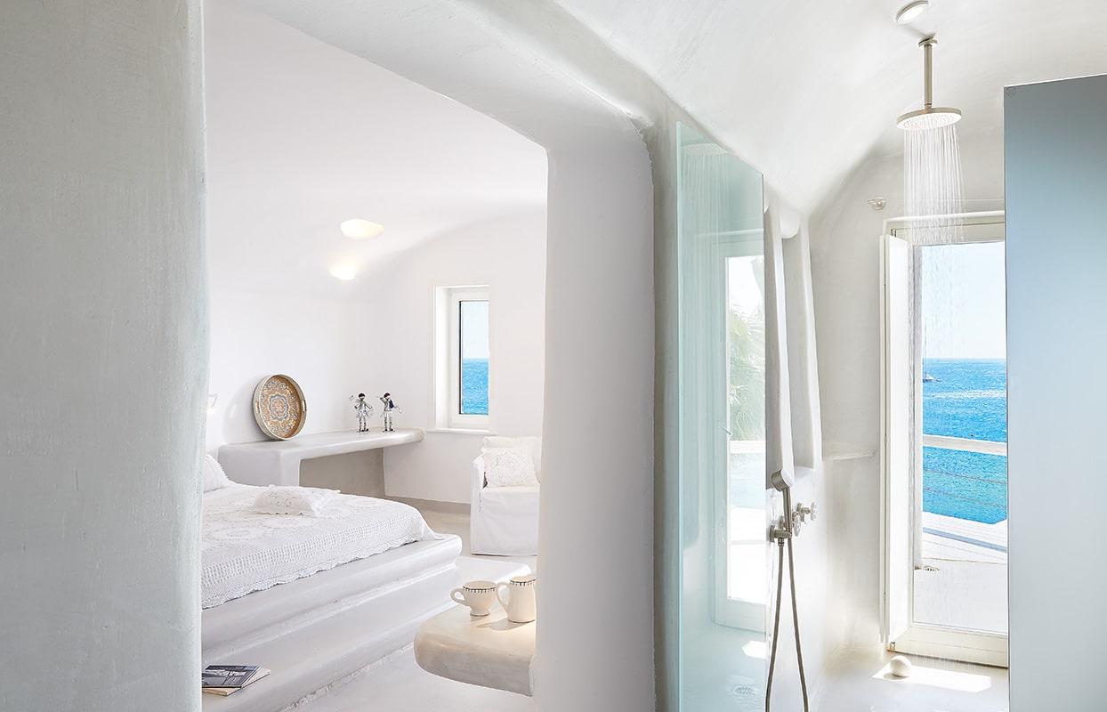 les 10 plus beaux hôtels de Grèce - Hôtel Mykonos Blu Grecotel Exclusive Resort - Junior Suite Bungalow