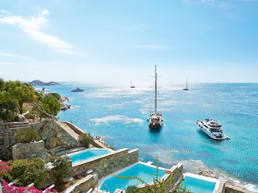 les 10 plus beaux hôtels de Grèce - Hôtel Mykonos Blu Grecotel Exclusive Resort - Piscine privée