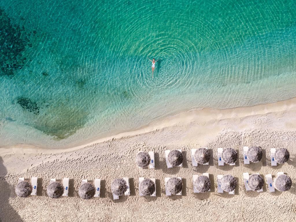 les 10 plus beaux hôtels de Grèce - Hôtel Mykonos Blu Grecotel Exclusive Resort - Plage privée