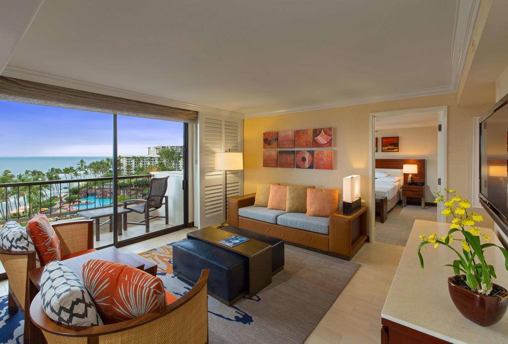 Les 5 plus beaux hôtels de Maui Hawaii - Hôtel Hyatt Regency Maui Resort & Spa - Chambre