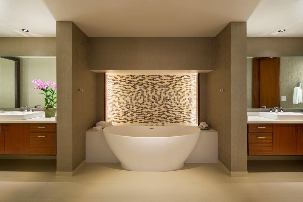 Les 5 plus beaux hôtels de Maui Hawaii - Hôtel Hyatt Regency Maui Resort & Spa - Salle de Bain