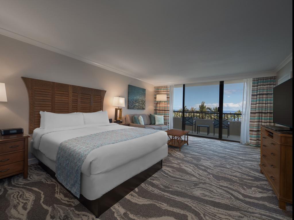 Les 5 plus beaux hôtels de Maui Hawaii - Hôtel Marriott's Maui Ocean Club Chambre