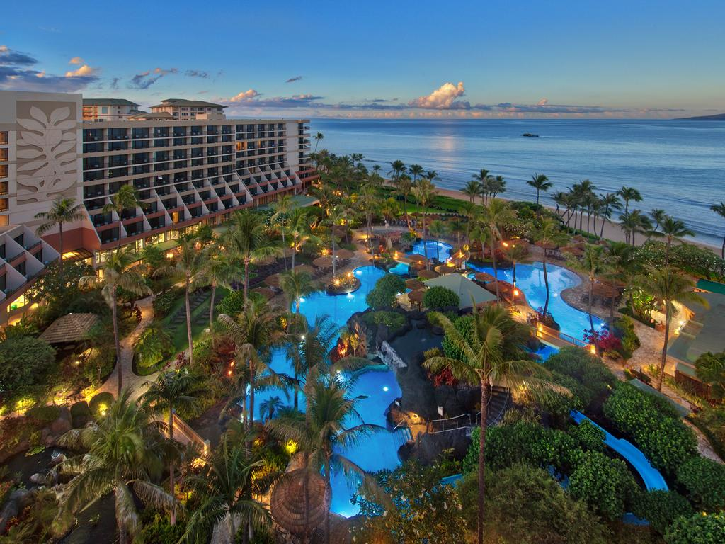 Les 5 plus beaux hôtels de Maui Hawaii - Hôtel Marriott's Maui Ocean Club