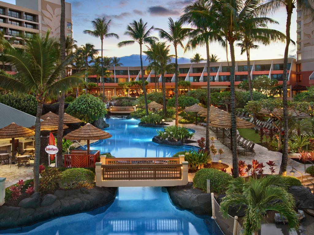 Les 5 plus beaux hôtels de Maui Hawaii - Hôtel Marriott's Maui Ocean Club Piscine