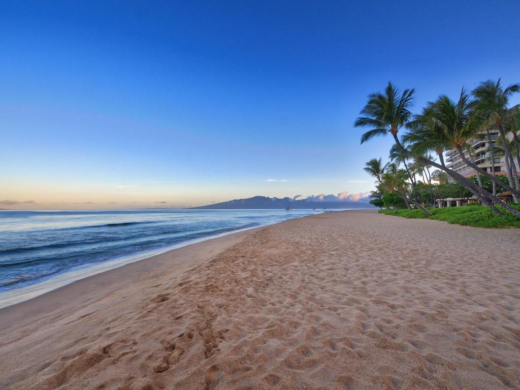 Les 5 plus beaux hôtels de Maui Hawaii - Hôtel Marriott's Maui Ocean Club Plage