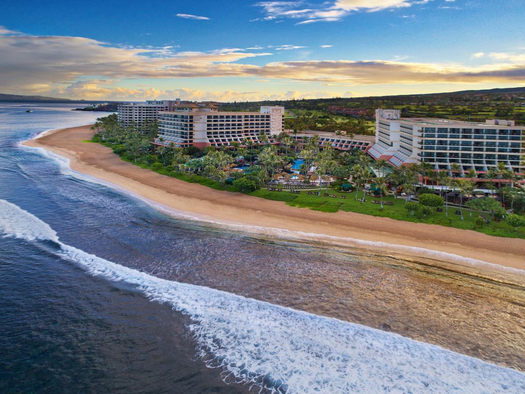 Les 5 plus beaux hôtels de Maui Hawaii - Hôtel Marriott's Maui Ocean Club Vue du ciel