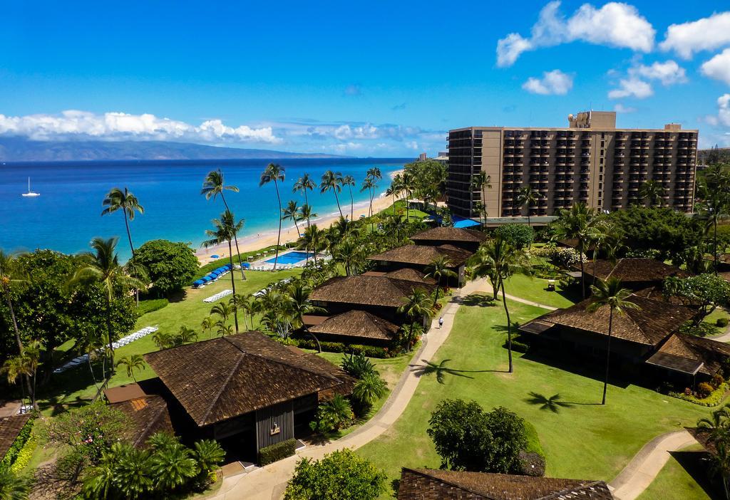 Les 5 plus beaux hôtels de Maui Hawaii - Hôtel Royal Lahaina Resort - Vue hotel