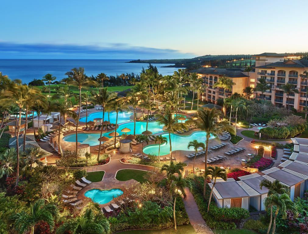 Les 5 plus beaux hôtels de Maui Hawaii - Hôtel The Ritz Carlton Kapalua Extérieur