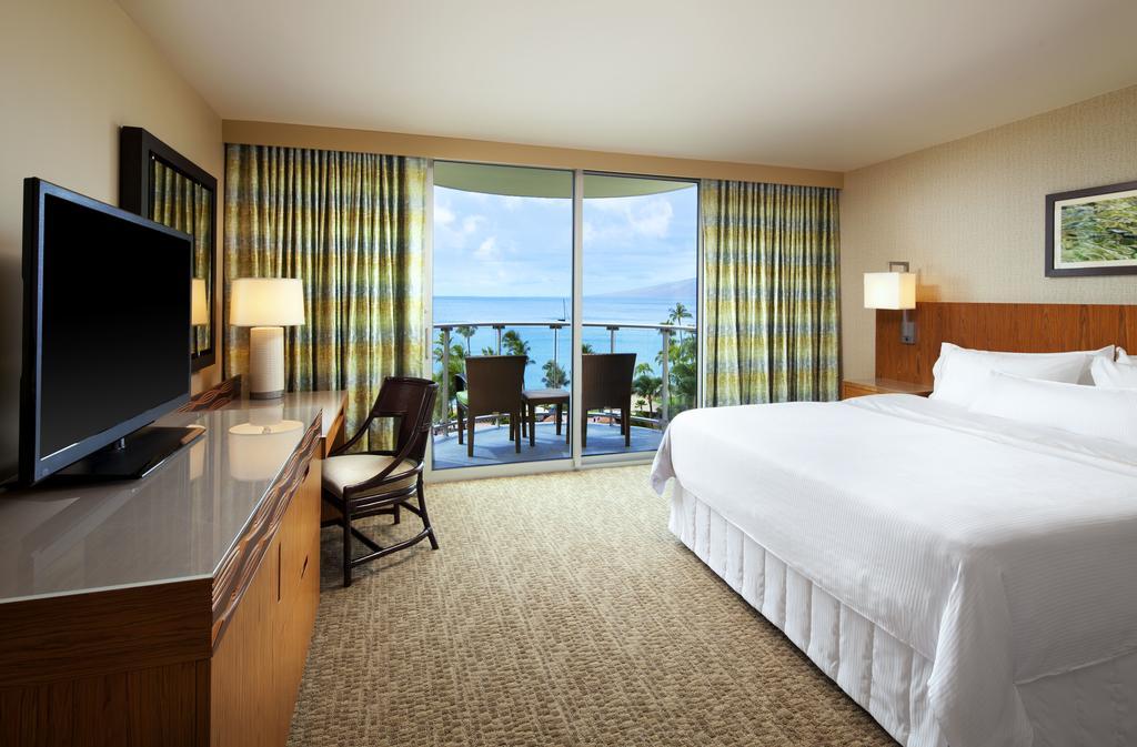 Les 5 plus beaux hôtels de Maui Hawaii - Hôtel The Westin Maui Resort Chambre