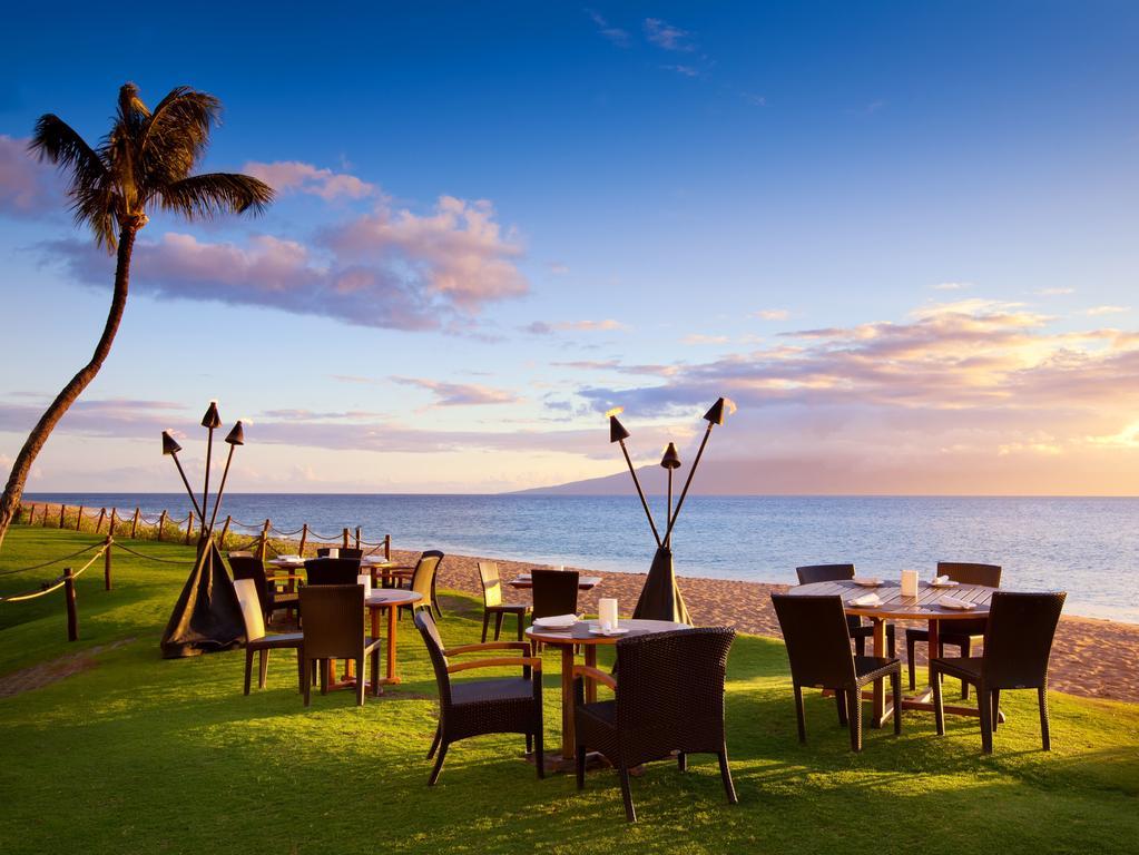 Les 5 plus beaux hôtels de Maui Hawaii - Hôtel The Westin Maui Resort Dîner plage