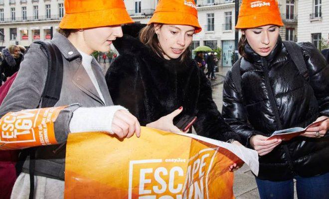 Escape Town EasyJet Paris