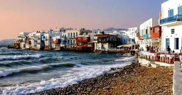 Mykonos Coucher de soleil Petite Venise