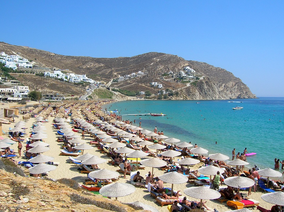 Mykonos Elias Beach meilleure plage de l ile