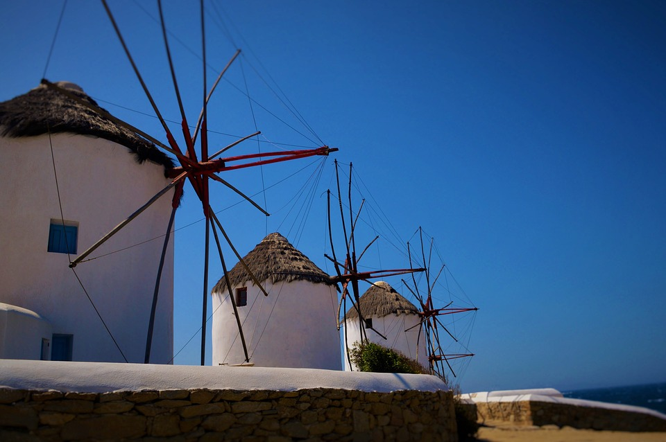 Mykonos Moulins à vent